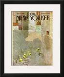 The New Yorker Cover - June 12, 1965 Framed Giclee Print by Laura Jean Allen