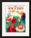 The New Yorker Cover - July 21, 1962 Framed Giclee Print by Su Zeigler