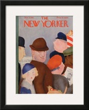 The New Yorker Cover - November 5, 1932 Framed Giclee Print by William Cotton
