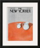 The New Yorker Cover - September 10, 1979 Framed Giclee Print by Pierre LeTan
