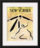 The New Yorker Cover - October 5, 1963 Framed Giclee Print by Abe Birnbaum
