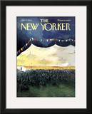 The New Yorker Cover - July 25, 1970 Framed Giclee Print by Arthur Getz