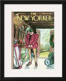 The New Yorker Cover - April 18, 1970 Framed Giclee Print by Charles Saxon