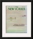 The New Yorker Cover - August 6, 1984 Framed Giclee Print by Eugène Mihaesco