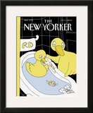 The New Yorker Cover - October 4, 2004 Framed Giclee Print by Gahan Wilson