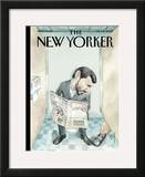 The New Yorker Cover - October 8, 2007 Framed Giclee Print by Barry Blitt