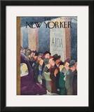 The New Yorker Cover - January 21, 1939 Framed Giclee Print by William Cotton