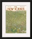 The New Yorker Cover - May 22, 1971 Framed Giclee Print by Ilonka Karasz