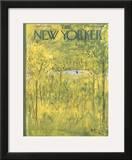 The New Yorker Cover - April 28, 1951 Framed Giclee Print by Abe Birnbaum