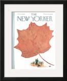 The New Yorker Cover - October 8, 1966 Framed Giclee Print by Abe Birnbaum