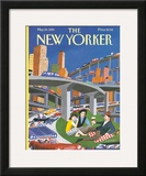 The New Yorker Cover - May 29, 1995 Framed Giclee Print by Mark Ulriksen