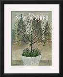 The New Yorker Cover - April 25, 1970 Framed Giclee Print by Laura Jean Allen