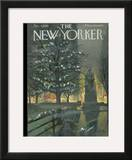 The New Yorker Cover - December 5, 1959 Framed Giclee Print by Arthur Getz