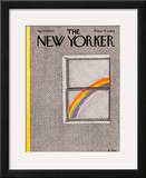 The New Yorker Cover - April 18, 1977 Framed Giclee Print by Pierre LeTan