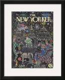 The New Yorker Cover - December 23, 1974 Framed Giclee Print by William Steig