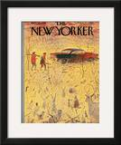 The New Yorker Cover - November 15, 1958 Framed Giclee Print by Garrett Price