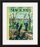 The New Yorker Cover - May 8, 1943 Framed Giclee Print by Alan Dunn