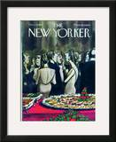 The New Yorker Cover - December 13, 1969 Framed Giclee Print by Charles Saxon