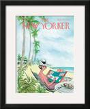 The New Yorker Cover - December 12, 1964 Framed Giclee Print by Charles Saxon