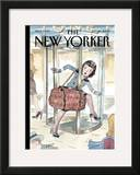 The New Yorker Cover - September 25, 2006 Framed Giclee Print by Barry Blitt