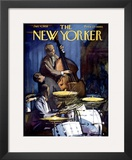The New Yorker Cover - January 4, 1958 Framed Giclee Print by Arthur Getz