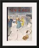 The New Yorker Cover - February 12, 1955 Framed Giclee Print by Perry Barlow