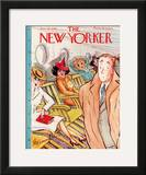 The New Yorker Cover - January 28, 1939 Framed Giclee Print by Barbara Shermund