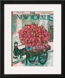 The New Yorker Cover - November 8, 1958 Framed Giclee Print by Abe Birnbaum