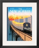 The New Yorker Cover - September 5, 2011 Framed Giclee Print by Eric Drooker