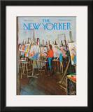 The New Yorker Cover - May 2, 1970 Framed Giclee Print by Arthur Getz