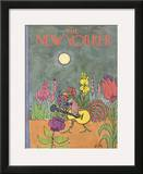 The New Yorker Cover - July 29, 1972 Framed Giclee Print by William Steig
