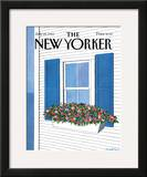 The New Yorker Cover - July 28, 1986 Framed Giclee Print by Judith Shahn