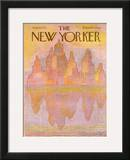 The New Yorker Cover - August 18, 1975 Framed Giclee Print by Eugène Mihaesco