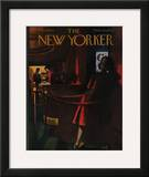 The New Yorker Cover - February 6, 1960 Framed Giclee Print by Arthur Getz