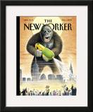 The New Yorker Cover - August 1, 2005 Framed Giclee Print by Harry Bliss