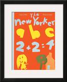 The New Yorker Cover - September 6, 1969 Framed Giclee Print by James Stevenson
