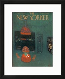 The New Yorker Cover - September 22, 1962 Framed Giclee Print by Robert Kraus