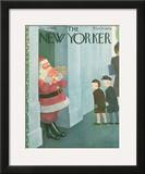 The New Yorker Cover - December 14, 1946 Framed Giclee Print by William Cotton