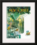 The New Yorker Cover - February 19, 1972 Framed Giclee Print by Charles Saxon