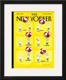 The New Yorker Cover - August 22, 2005 Framed Giclee Print by Ian Falconer