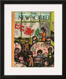 The New Yorker Cover - December 8, 1951 Framed Giclee Print by Abe Birnbaum