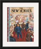 The New Yorker Cover - February 3, 1940 Framed Giclee Print by Virginia Snedeker