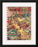The New Yorker Cover - October 9, 1937 Framed Giclee Print by Ilonka Karasz