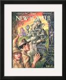 The New Yorker Cover - June 23, 1997 Framed Giclee Print by Owen Smith
