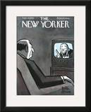 The New Yorker Cover - September 30, 1950 Framed Giclee Print by Peter Arno