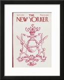 The New Yorker Cover - April 5, 1969 Framed Giclee Print by Frank Modell