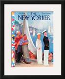 The New Yorker Cover - July 31, 1937 Framed Giclee Print by William Cotton
