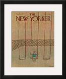 The New Yorker Cover - September 26, 1977 Framed Giclee Print by Robert Tallon