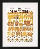 The New Yorker Cover - November 11, 1974 Framed Giclee Print by Laura Jean Allen
