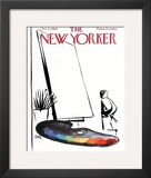 The New Yorker Cover - October 17, 1959 Framed Giclee Print by Arthur Getz